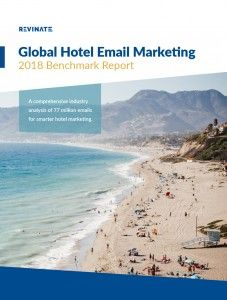 Revinate's new report finds segmented hotel marketing campaigns drive 20% higher open rate
