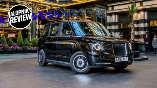 What an Electric London Taxi Is Like to Drive