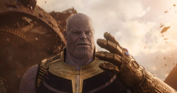 Fans have a theory that Thanos time traveled at the end of 'Avengers: Infinity War' - here's the proof