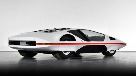 The Bizarre Ferrari 512S Modulo Concept Finally Went on Its First Drive on Public Roads