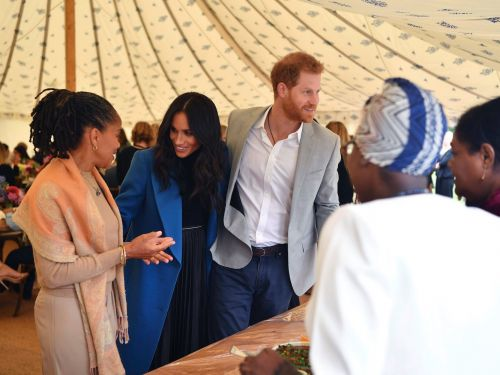 Meghan Markle and Doria Ragland proved they have the perfect mother-daughter style at the duchess's new charity cookbook launch