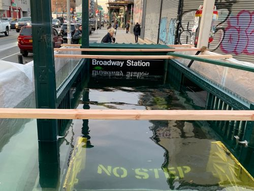 The MTA flooded a subway stop on purpose because 'climate change is real.' Here's how they're prepping New York for the next Superstorm Sandy