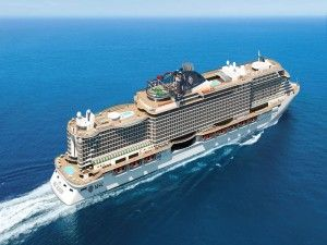 MSC Group takes delivery of MSC Seashore