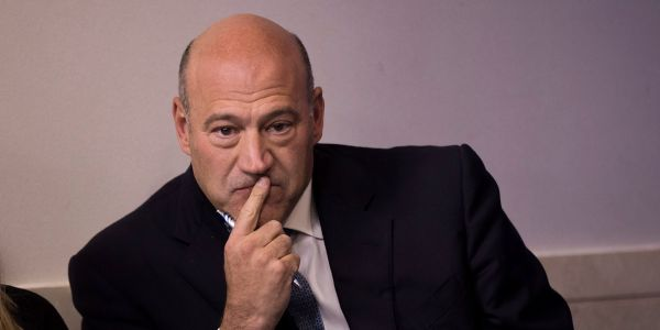 Gary Cohn, Trump's former top economic adviser, was reportedly approached by Wells Fargo board members about becoming the bank's CEO