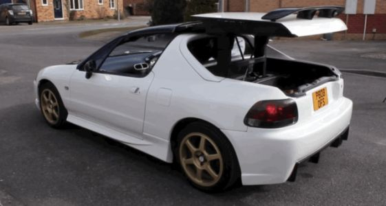 Someone Please Buy This Honda Del Sol Trans Top So I Don't Have To