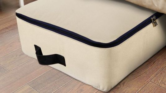 Store Your Winter Clothes and Extra Bedding In This $12 Under-Bed Bag
