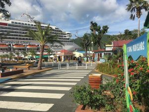 Carnival Cruise Line Returns to St. Thomas with a Visit by Carnival Glory Earlier Today