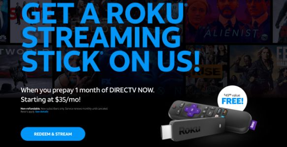 Stream the NBA Playoffs With DIRECTV Now For $35, Plus a Free Roku Streaming Stick