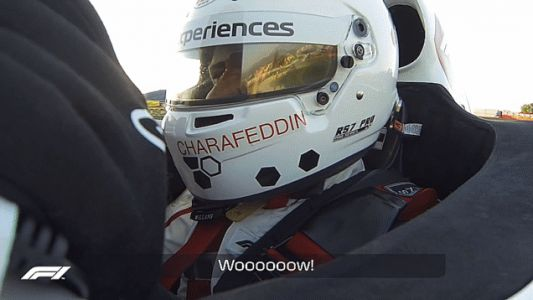 A Blind Superfan's Ride-Along In A Two-Seat F1 Car Will Melt Your Icy Cold Heart