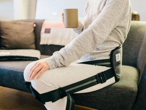 This $60 posture corrector from 'Shark Tank' might seem gimmicky - but it actually eliminated my back pain at work