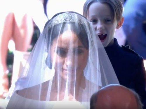 Meghan Markle's smiling page boy stole the show at the royal wedding