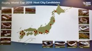 The Rugby World Cup 2019 representatives tries hard to attract tourists to Japan