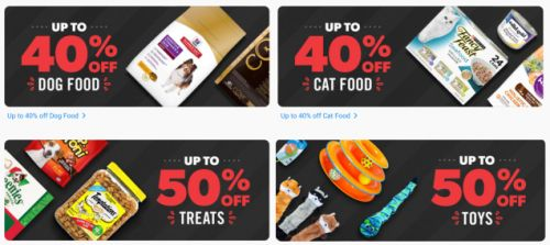 Pet Parents, Take a Bite Out of Up to 50% Off at Chewy