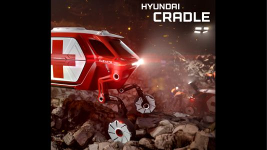 Hyundai's Four-Legged 'Walking Car Concept' Is Truly the Stuff of Nightmares