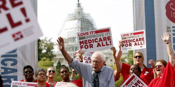 A new study estimates Bernie Sanders' 'Medicare for All' plan would cost a whopping $32.6 trillion over 10 years