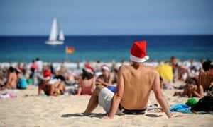 Christmas heat waves across Australia will break records with rising temperature