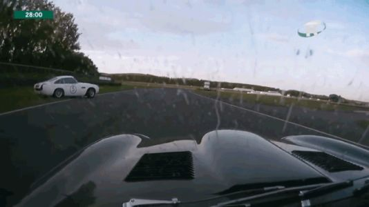 Please Enjoy These Excellent Butt-Clenching Saves From the Goodwood Revival