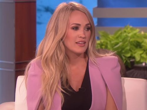 Carrie Underwood says she was open about her face injury to prevent speculation that she got plastic surgery