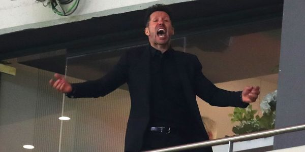 Atletico Madrid won a major trophy despite their manager being banned from the touchline following a confrontation with an official