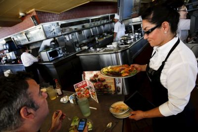 Yelp's ratings may predict how well restaurants do after a minimum wage increase