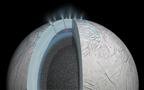 NASA 'tasted' complex organic compounds in a blast of water from one of Saturn's moons - and can't yet rule out the possibility that they're from alien life
