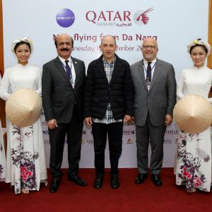 Qatar Airways Touches Down For the First Time in Da Nang, Vietnam