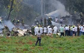 Cuban plane crashes on take 0ff, no casualties reported