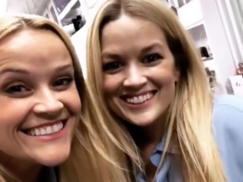Reese Witherspoon shared a video with her body double - and the resemblance will freak you out