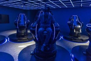 New Virtual Reality theme park in Jiangxi Province attracts thousands of visitors every day
