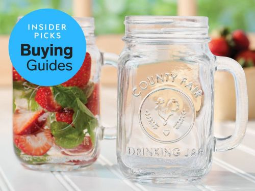 The best mason jars you can buy