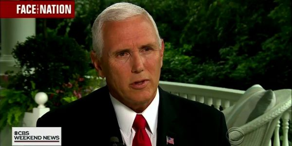 Mike Pence said he's '100% confident' no one on his staff wrote the anonymous New York Times op-ed, and he'd take a lie detector test to prove he didn't, either