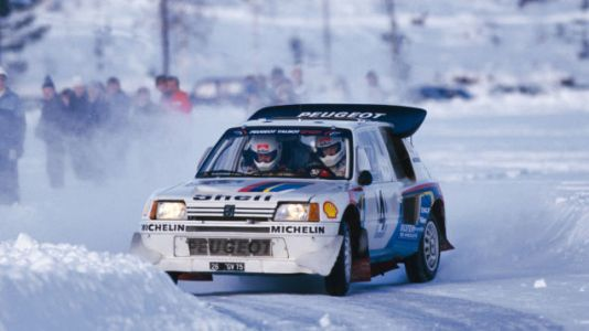 Blast through the hell-winter and straight on through to the weekend in your Peugeot 205 T16 rally c