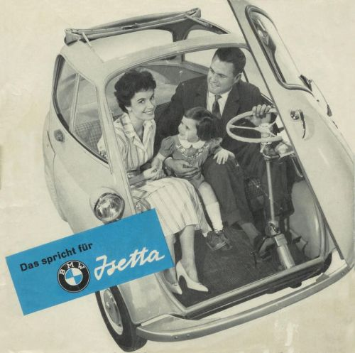The Isetta was an important car for BMW, which reached out to Italian company Iso to build a version