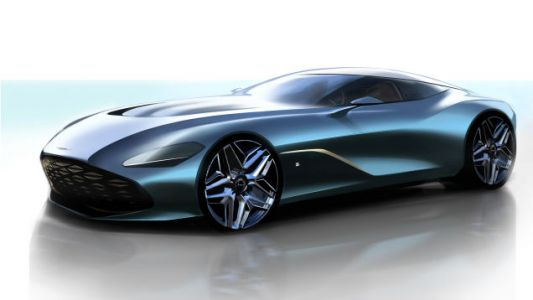 The Aston Martin DBS GT Zagato Rendering Looks Like a Sleek Fish