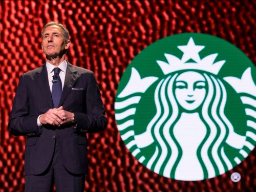 Starbucks' Howard Schultz is stepping down amidst rumors of a potential presidential run