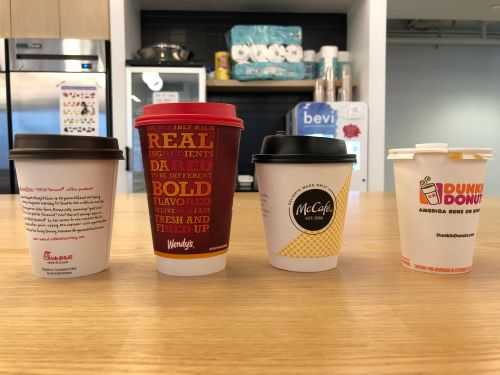 We tried 4 different fast food coffees - and the winner might surprise you