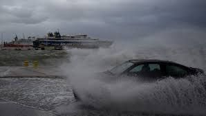 Greece issued evacuation as powerful Mediterranean cyclone approaches