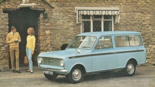 This late 1960s Bedford Beagle wagon was built by British vehicle conversion company Dormobile