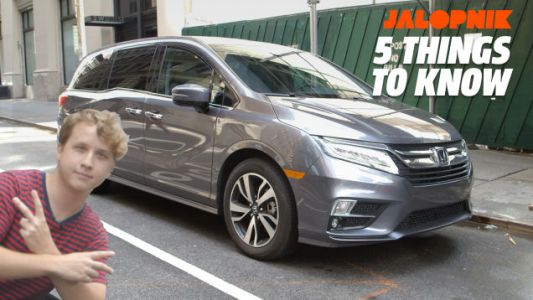 2019 Honda Odyssey: Five Things That Actually Make It Interesting