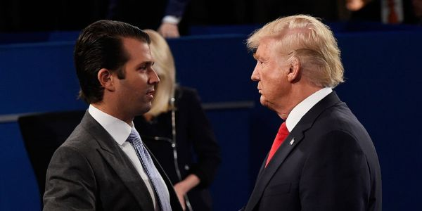 Trump reportedly told his son Don Jr. that he couldn't trust anyone - not even him
