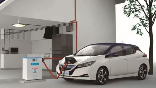 Your Nissan Leaf May Soon Charge Your House