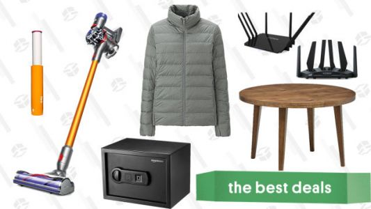 Saturday's Best Deals: Dyson, Dining Furniture, Biometric Safe, and More