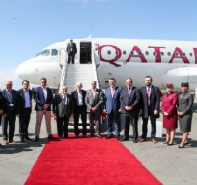 Qatar Airways Touches Down For the First Time in Thessaloniki