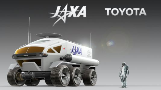 Toyota Is Planning to Get Into the Space-Car Business