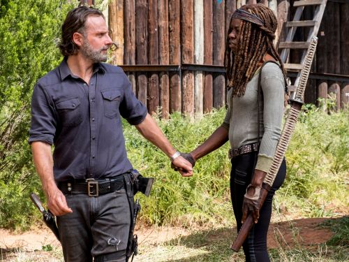 All of Rick and Michonne's relationship moments on 'The Walking Dead' so far