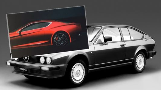 This May Be the New Alfa Romeo GTV Way Before You're Supposed To See It