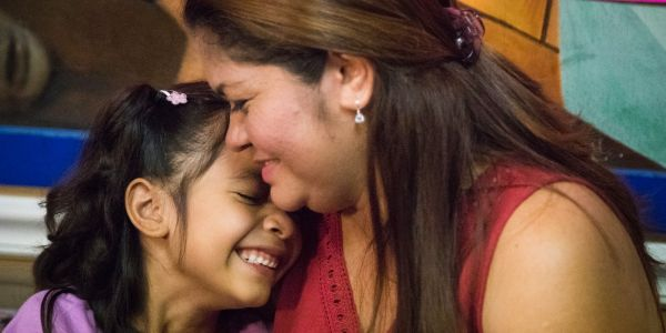 The 6-year-old immigrant girl heard on a secret recording from a detention facility has finally been reunited with her mother
