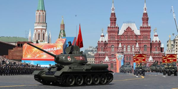 Russia showed off its military might at a massive parade through Red Square - here's what they put on display