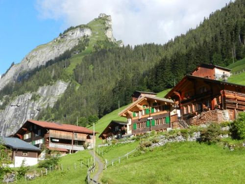 A Chance to Give Back to a Classic Back Door: Gimmelwald