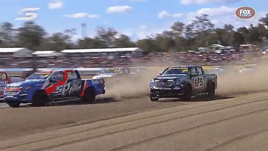 Australian Racing Series Attempts To Send Truck Parts Into Low Orbit